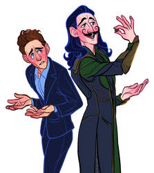 Tom and Loki Redraw