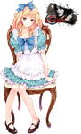 Alice in Wonderland render