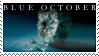 Blue October stamp by InfiniteFruit