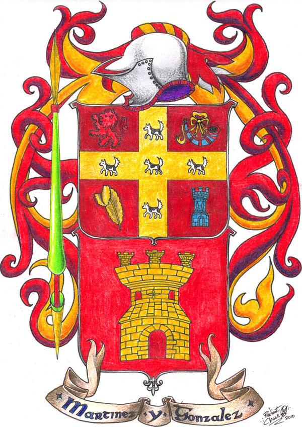 Martinez Gonzalez Family Crest By Infinitefruit On Deviantart