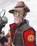 The Sniper in Pencil