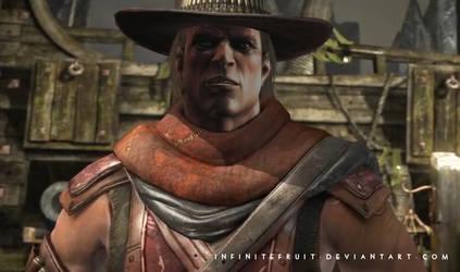 Erron Black Unmasked 3 by InfiniteFruit
