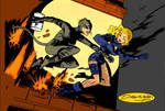 Catwoman n Black Canary