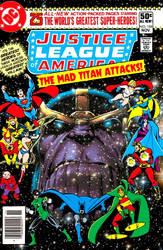 ecec5896c04e Salman64 26 1 The Justice League vs. Thanos! by Gwhitmore