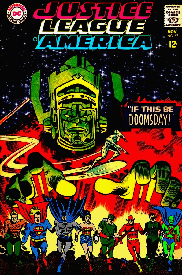 Justice League of America vs. Galactus! by Gwhitmore on ...