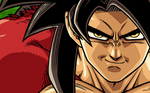 Goku SSJ4 2 wide wallpaper