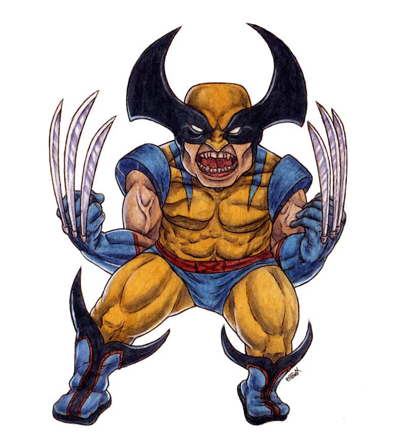 Wolverine by nahuel-amaya