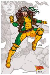 COMMISSION: Rogue // X-Men 90's by nahuel-amaya