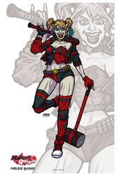 Harley Quinn // Rebirth by nahuel-amaya