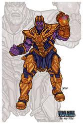 Thanos // Avengers: Infinity War - Endgame by nahuel-amaya