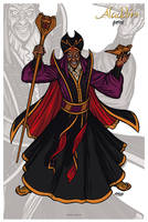 Aladdin // Jafar by nahuel-amaya