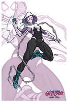 Ghost Spider // Spider-Gwen // Spiderwoman by nahuel-amaya