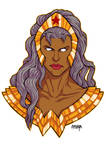 COMMISSION: AMAZON // WONDER WOMAN + STORM //