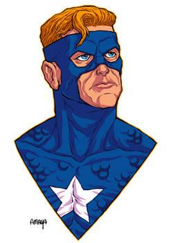 COMMISSION: SUPERSOLDIER // SUPERMAN + CAP AMERICA