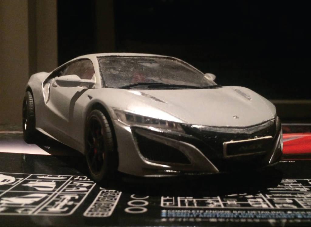 NSX model Kit by garrymamesah
