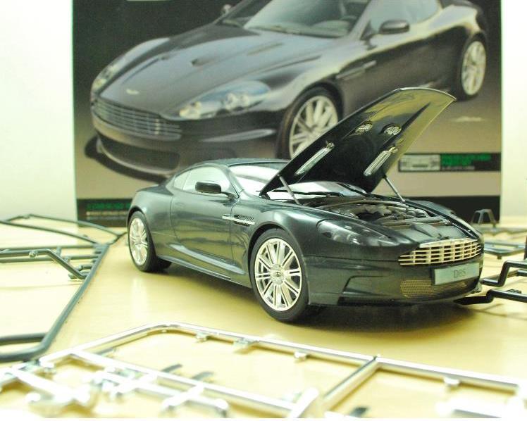 Aston Martin DB9 (2009) Assembly Kit by garrymamesah