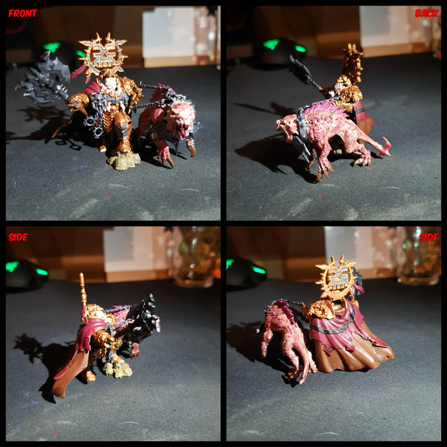 Mighty Lord of Khorne by FatherGabriel