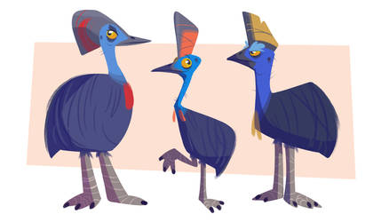 Cassowary by themsjolly