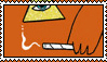 King of the Beach Stamp by screamingoldwoman