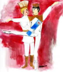 Kirk and Spock Dance the Nutcracker Ballet