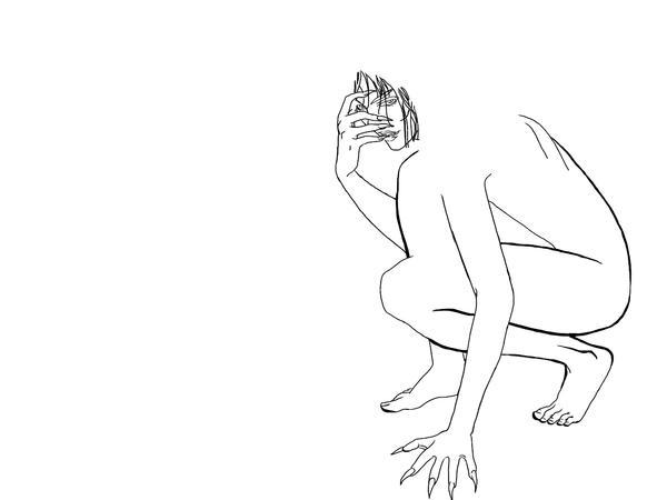 Beast WIP by Kashi-kun
