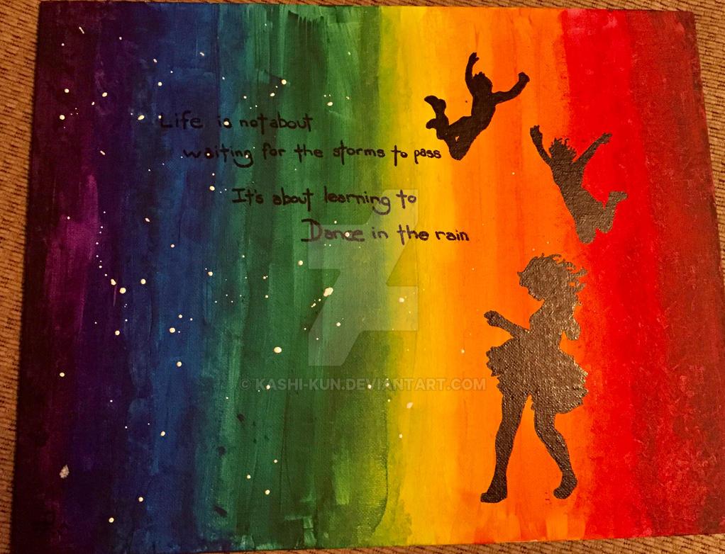 Dancing in the Rain by Kashi-kun