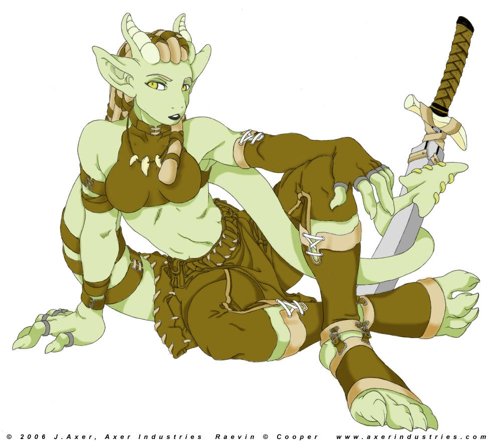 how to draw an argonian