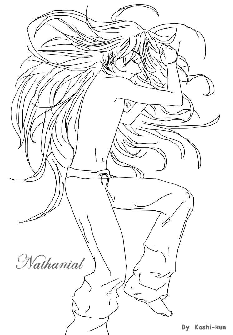 Nathanial sleeping by Kashi-kun