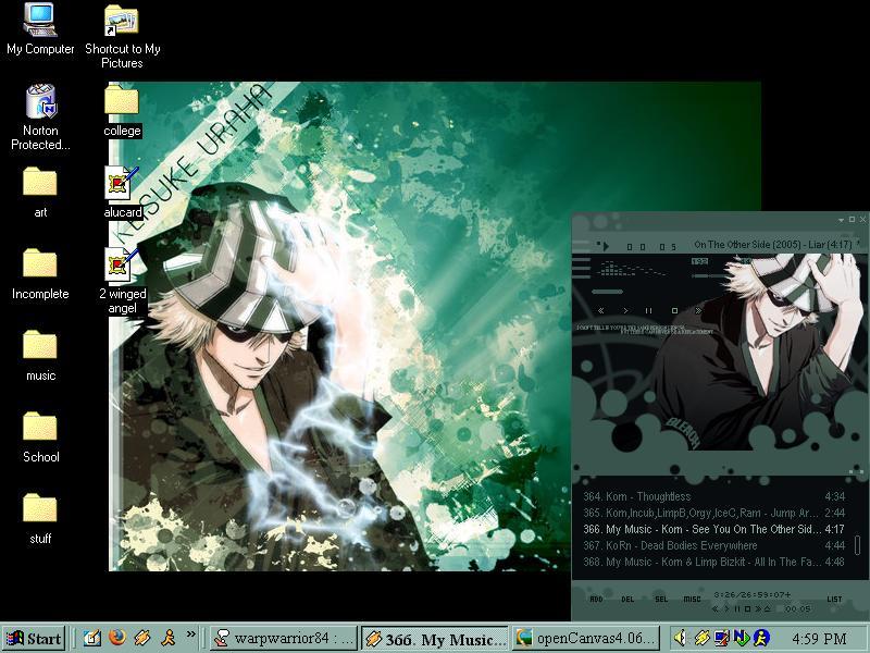 urahara desktop by Kashi-kun