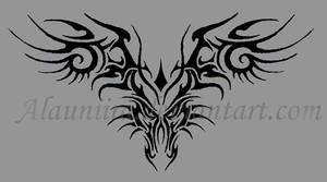 Dragon tribal by Alauniira