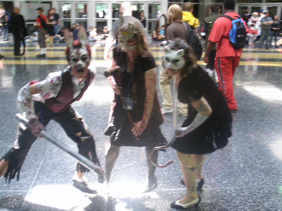 Splicers, Acen 2011 by Nekomini09