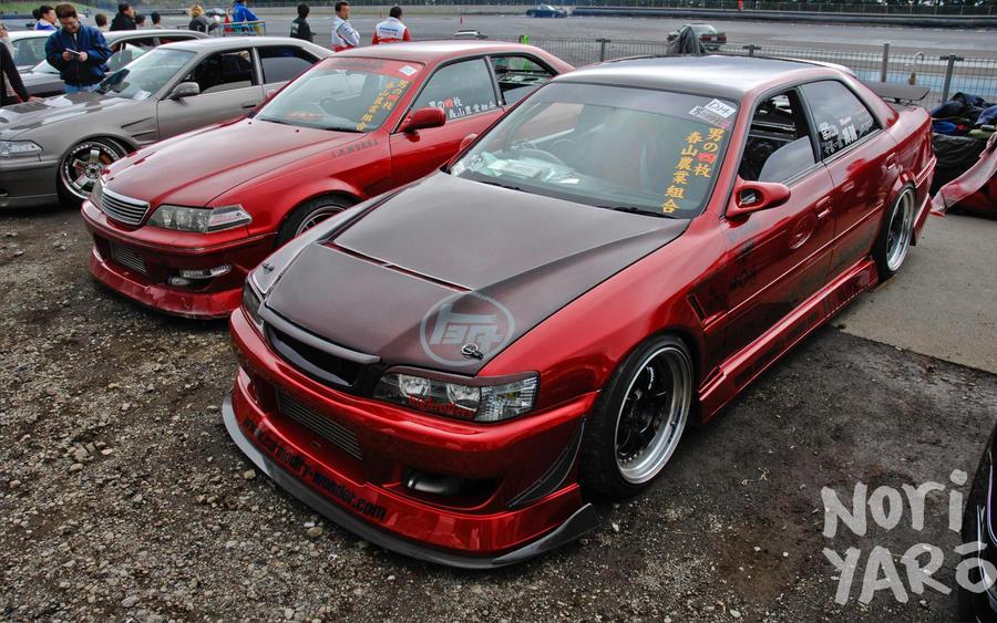 Toyota Марк 2 100 тюнинг фото #11