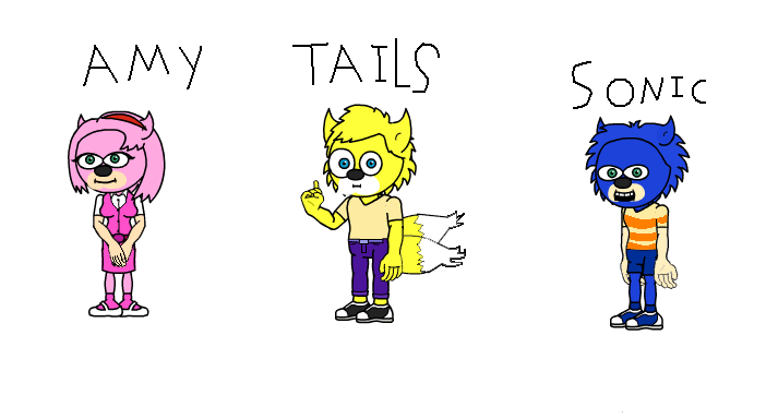 sonic characters as Phineas and Ferb characters by teefro on ...