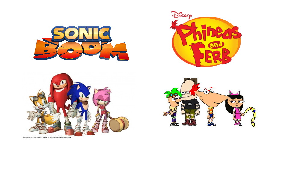 Phineas And Ferb Sonic Boom Style by teefro on DeviantArt