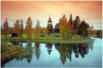 An old Finnish church..