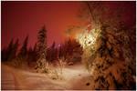 Evening Lights in Ruka II