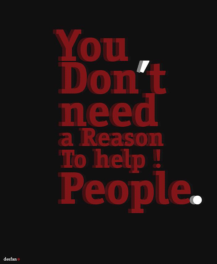 A reason by DES-FAN