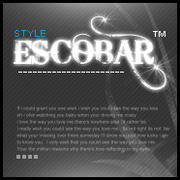 Escobar Logo by NocturneArt