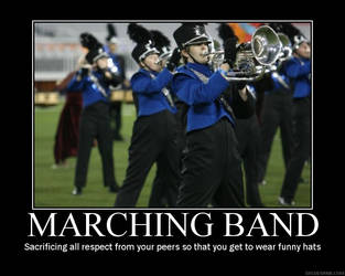 Marching band poster by Darth-Snickers