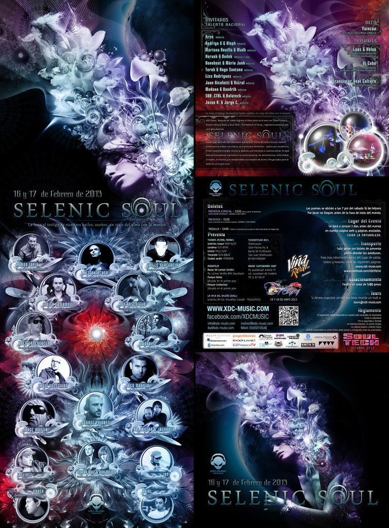 Selenic Soul Flyer by psikodelicious