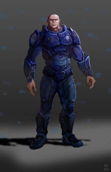 Big Sci Fi Soldier