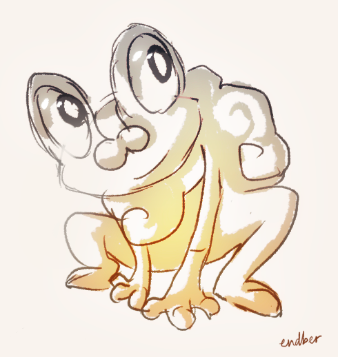 Froakie by Endber