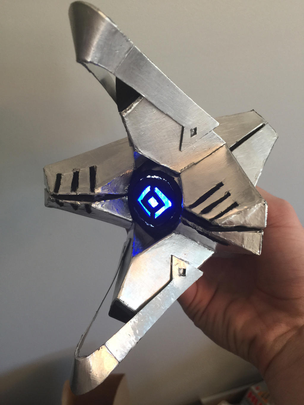 Custom Destiny Ghost Shell With Light By Jakusto