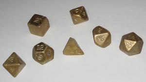 Bronze dice by PogoBeta