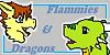 Flammiesanddragons logo by Gexna