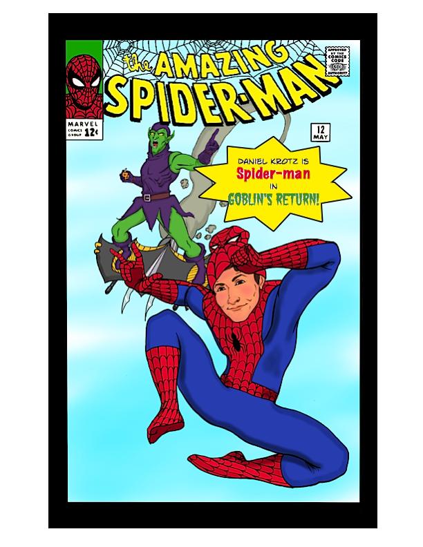 Spiderman Birthday Card by robinthefourth on DeviantArt