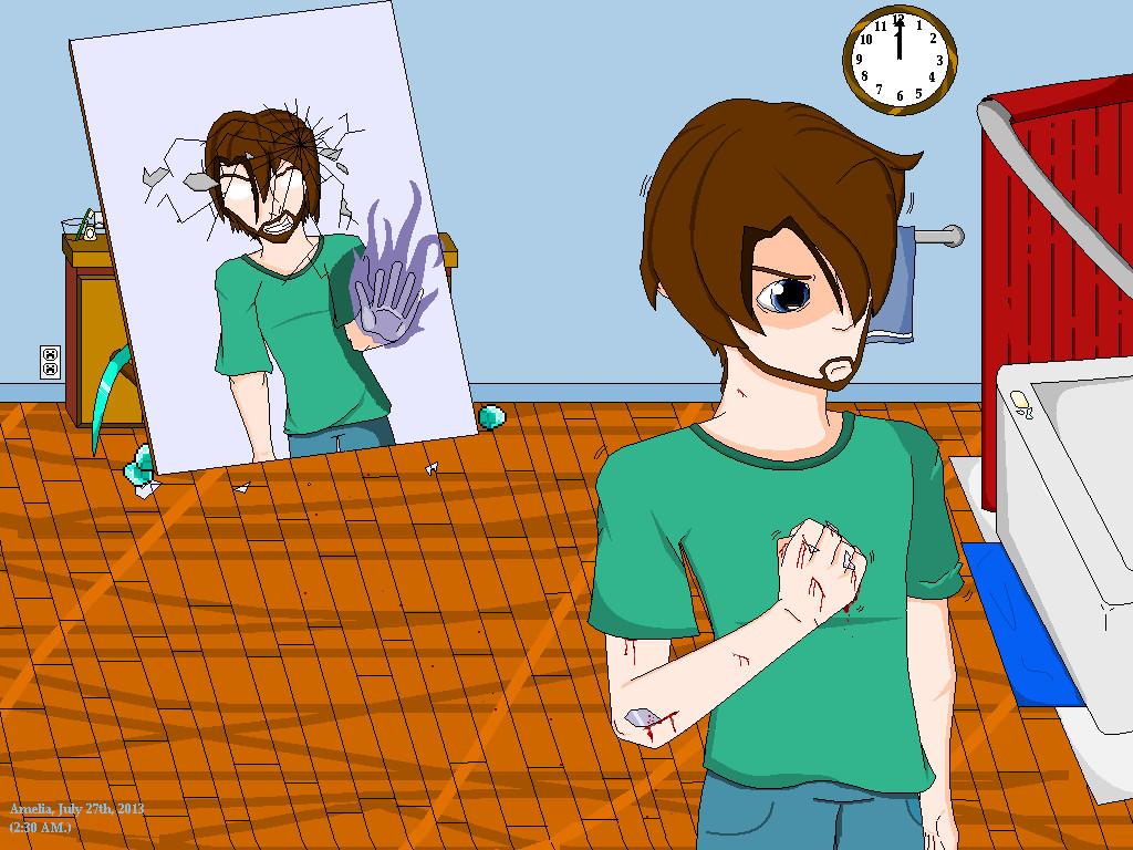 Speedart #5 - Steve & Alex (Minecraft) - YouTube