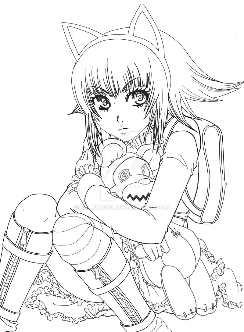 League of legends gothic annie skin by zelphie00 on deviantart for League of legends coloring pages