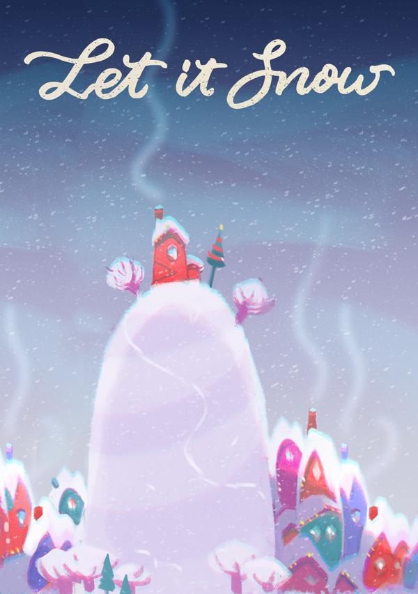 Let it Snow by Helenartist