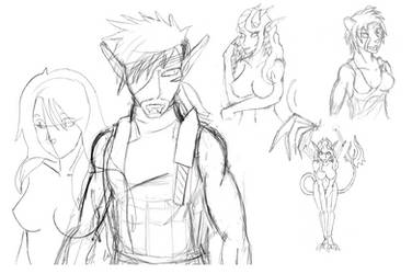 Sketch preview 12-4-14 by Streaked-Silver